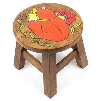 Sleeping Fox Stool