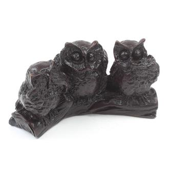 Resin 3 Wise Owls
