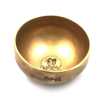 Fine Etched White Tara Bowl