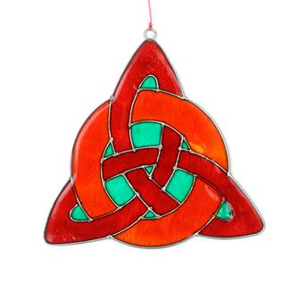 Celtic Knot Suncatcher