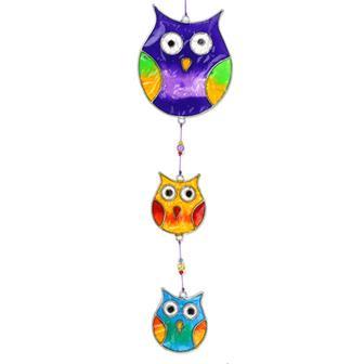 String of Owls Suncatcher
