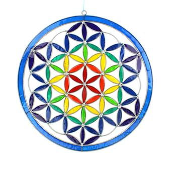 Giant Flower of Life Suncatcher