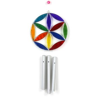Flower of Life Suncatcher Chime