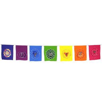 Chakra Batik Flags