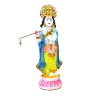 Vibrant Krishna Statue