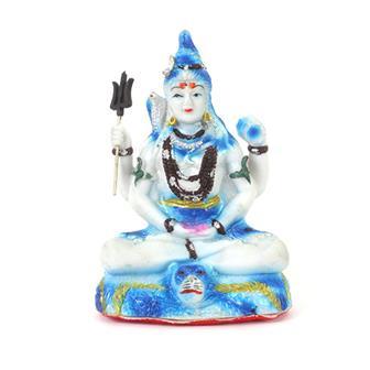 Vibrant Shiva Statue