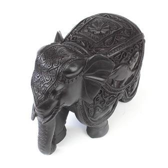 Elaborate Resin Elephant