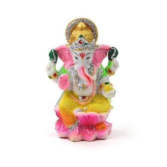 Vibrant Ganesh Statue