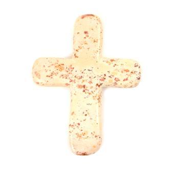 Small Natural Soapstone Cross