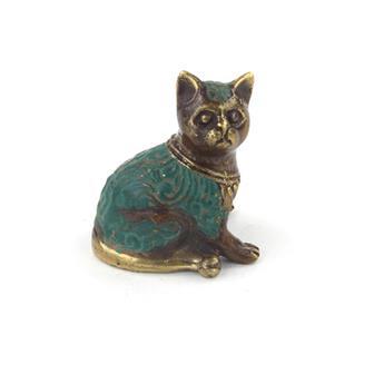 Bronze Cat Charm