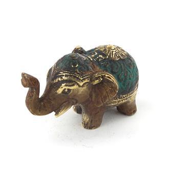 Bronze Elephant Charm