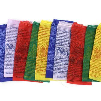 Tibetan Prayer Flags - Medium