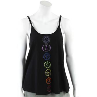 Embroidered Chakra Top