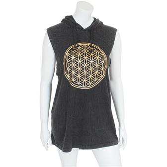 Flower of Life Hooded Vest