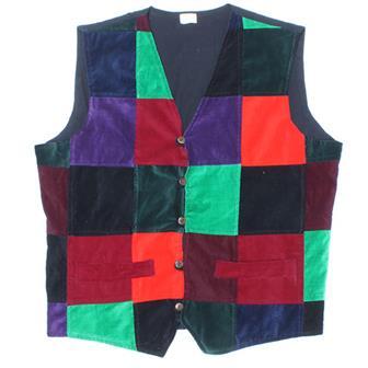 Velvet Patch Waistcoat