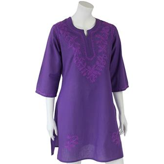 Long Embroidered Ashas Kurti