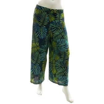 Fern Forest Cropped Trousers