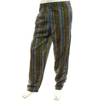 Stripy Cotton Trousers - Shades of Rust