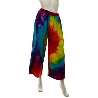 Rainbow Cropped Trousers