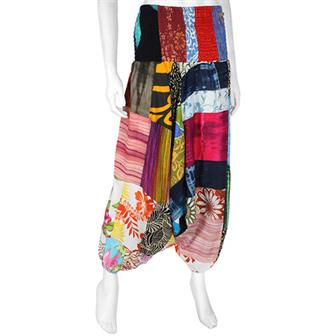 Patchwork Ali Baba Trousers