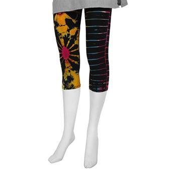 Short Tie Dye Leggings