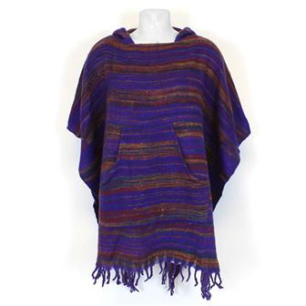 Indian Blanket Poncho