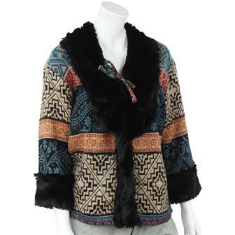 Fluff Trim Jacket