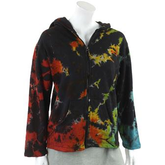 Larger Tie Dye Hoodies