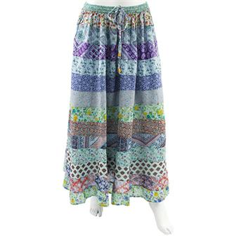 Monica Floral Long Skirt