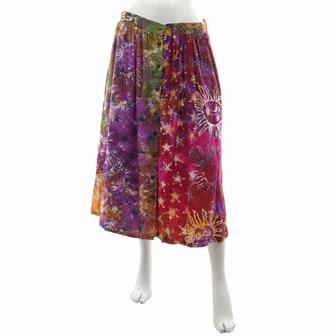 Celestial Button Skirt