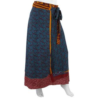 Indian Wrap-Around Skirt