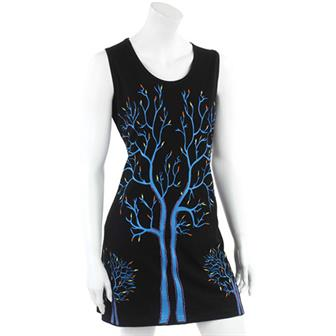 Tree of Life Jersey Dress