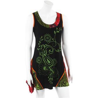 Paisley Plant Dress