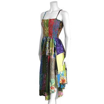 Patch Wave Dress