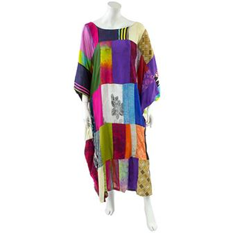 Full Length Patchwork Kaftan