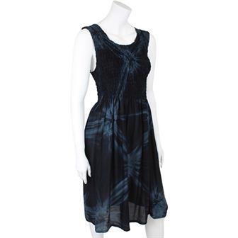 Tie Dye Elastic Top Dress