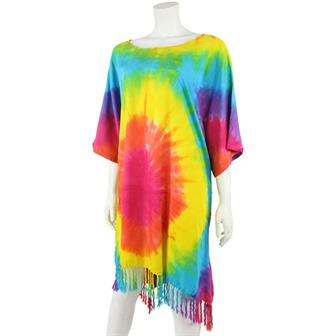 Short Rainbow Kaftan