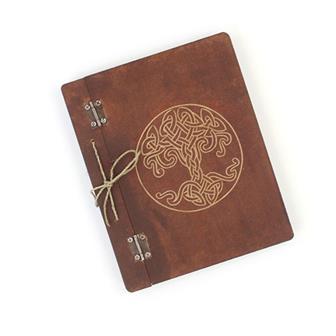 Blank Celtic Tree Knot Book