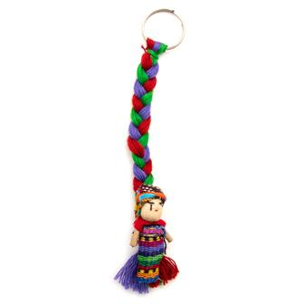 Worry People Charm Keyring
