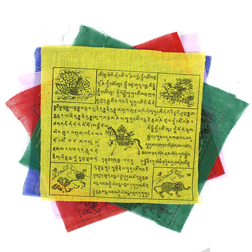 Long String Fair Trade Tibetan Windhorse Buddhist Prayer Flags