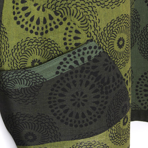 Mandala Print Pocket Top