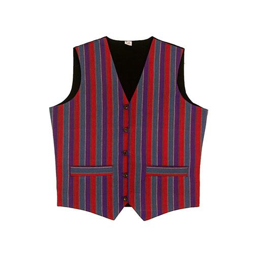 Nepalese Stripe Waistcoat