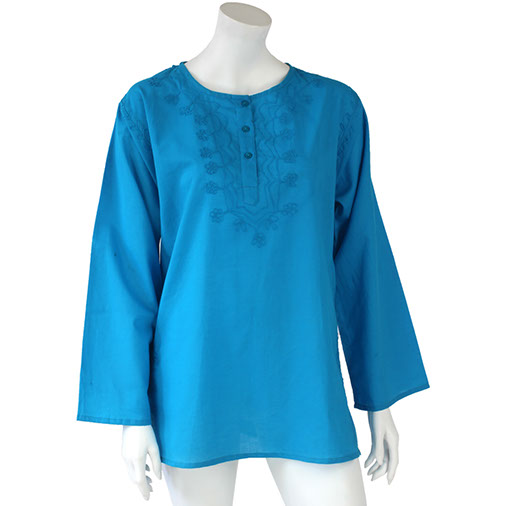 Short Embroidered Ashas Kurti