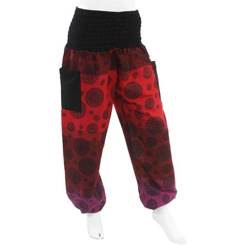 Mandala Print Harem Trousers