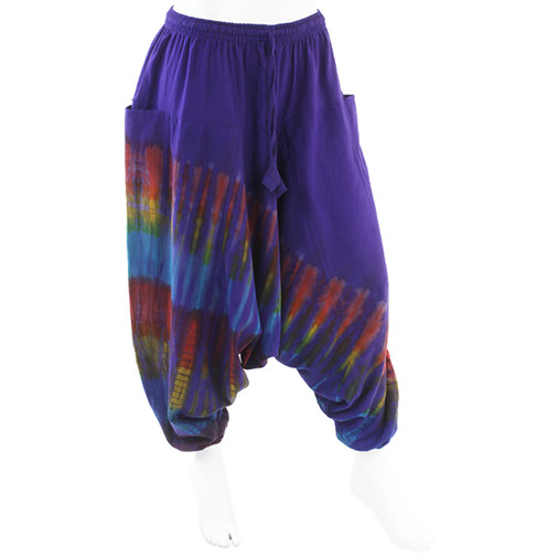 Deep Dye Ali Baba Trousers