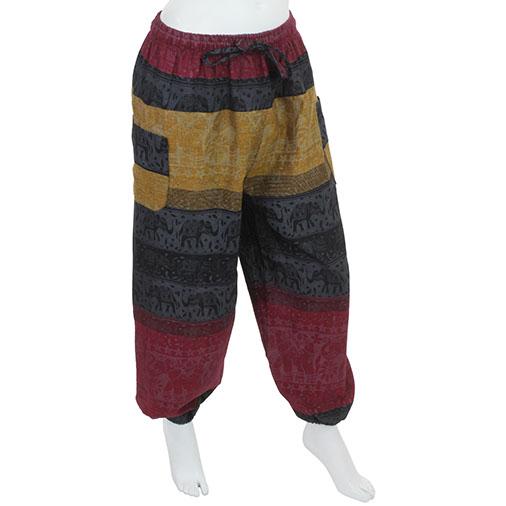 Nepal Elephant Harem Trousers
