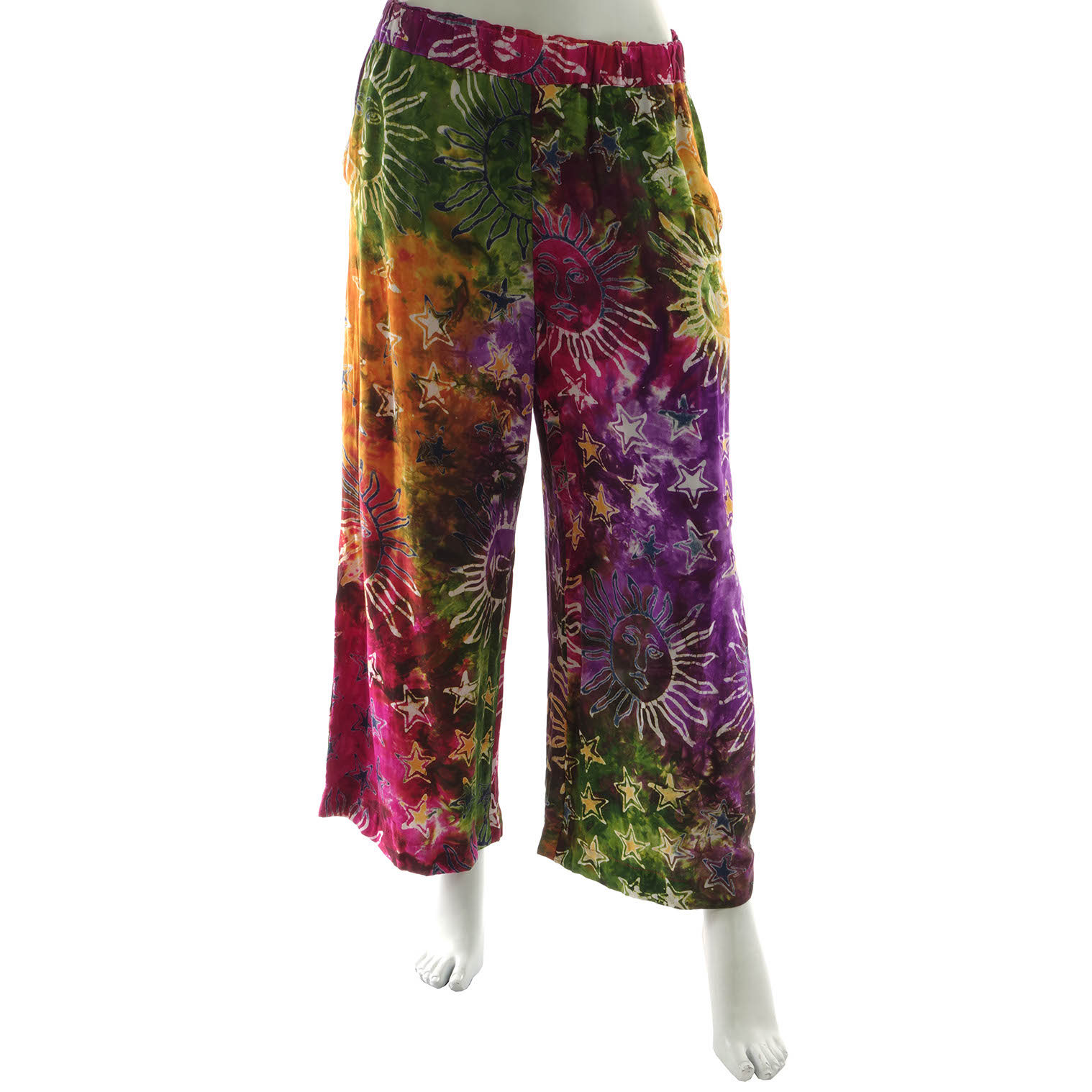Celestial Cropped Trousers