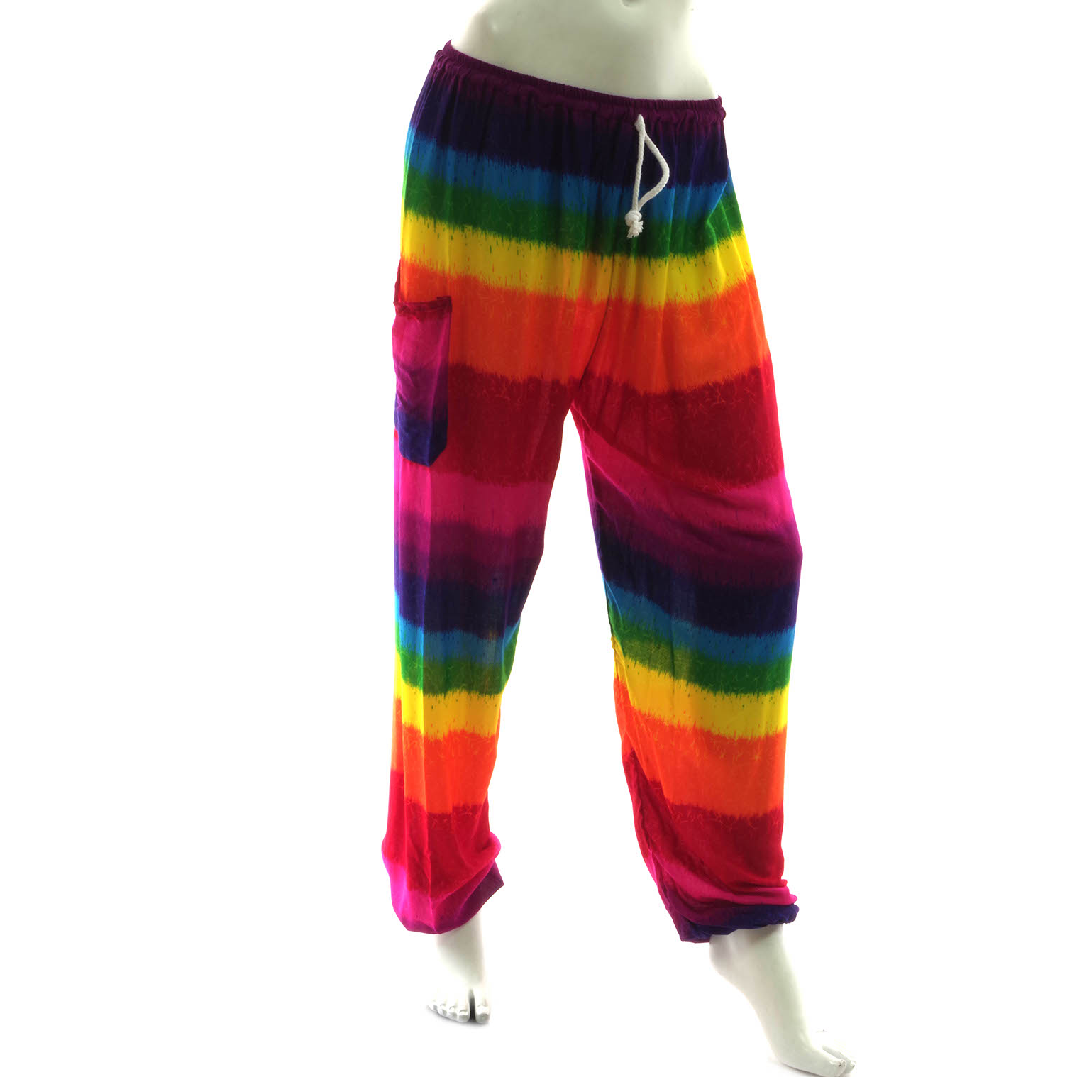 Rainbow Drawstring Trousers