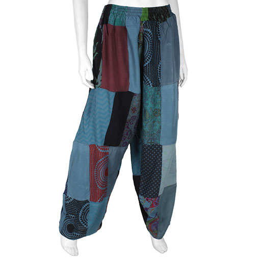 Overdyed Patch Trousers