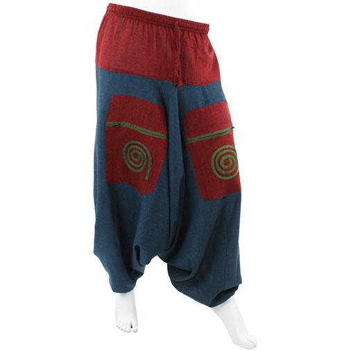 Swirl Ali Baba Trousers